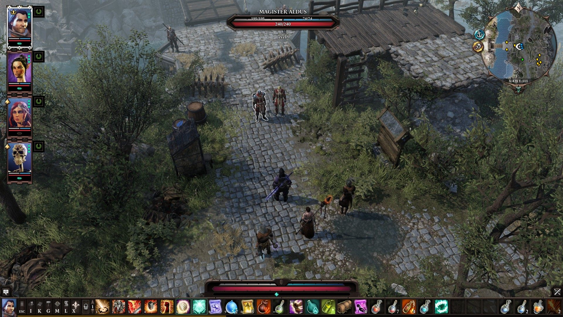 The Law of the Order, Divinity: Original Sin 2 Quest