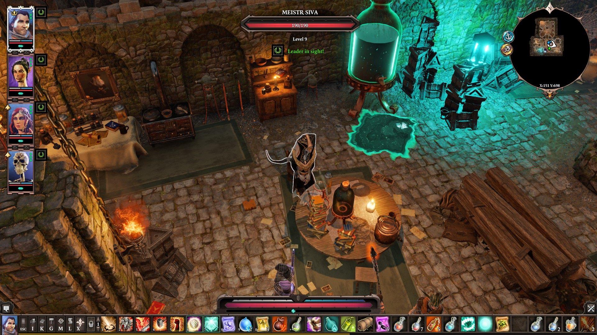 NPCs, Reaper's Coast, Divinity: Original Sin 2 Points of