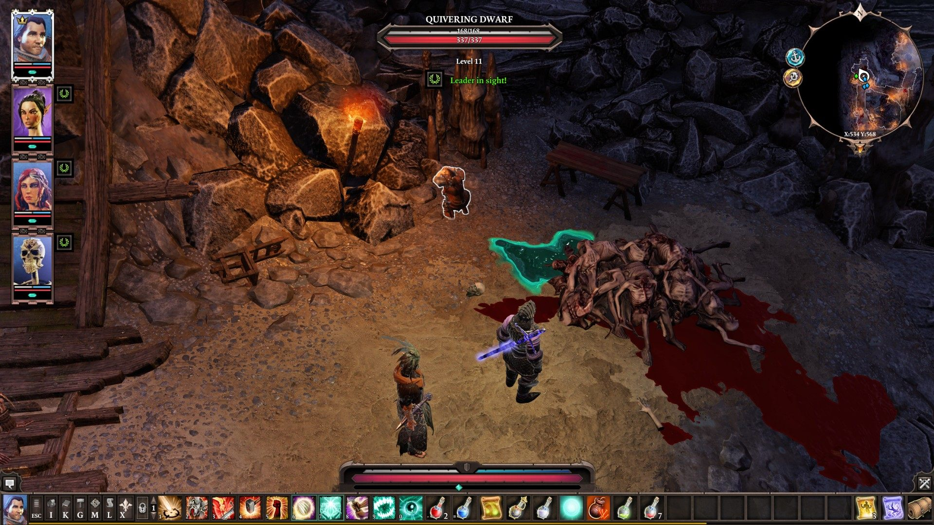 Shadow over Driftwood, Divinity: Original Sin 2 Quest