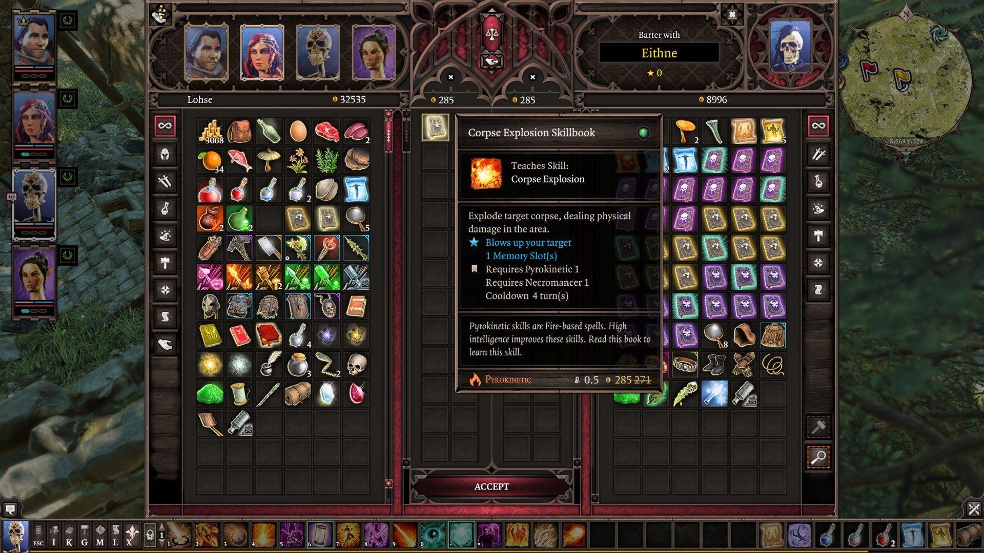 Eithne the Trader, Divinity: Original Sin 2 Quest