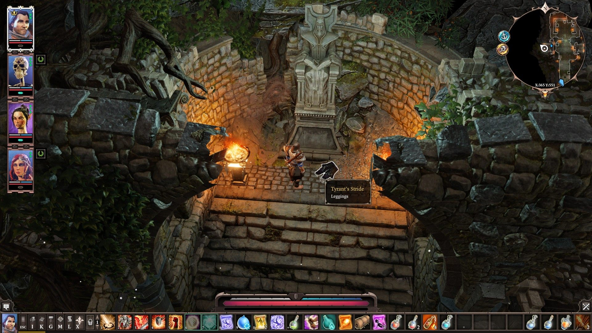 Artefacts Of The Tyrant Divinity Original Sin 2 Quest You can kick off this quest by first completing the vault of braccus rex quest to collect one of the pieces. the tyrant divinity original sin 2 quest