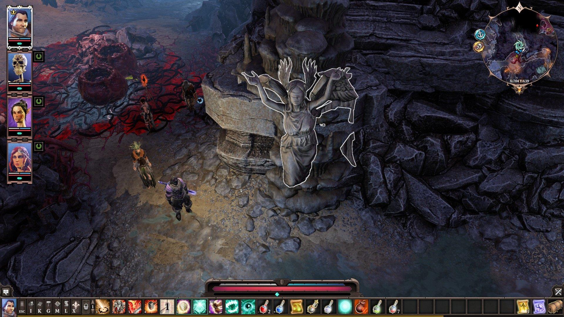 Waypoint Shrines, Reaper's Coast, Divinity: Original Sin 2