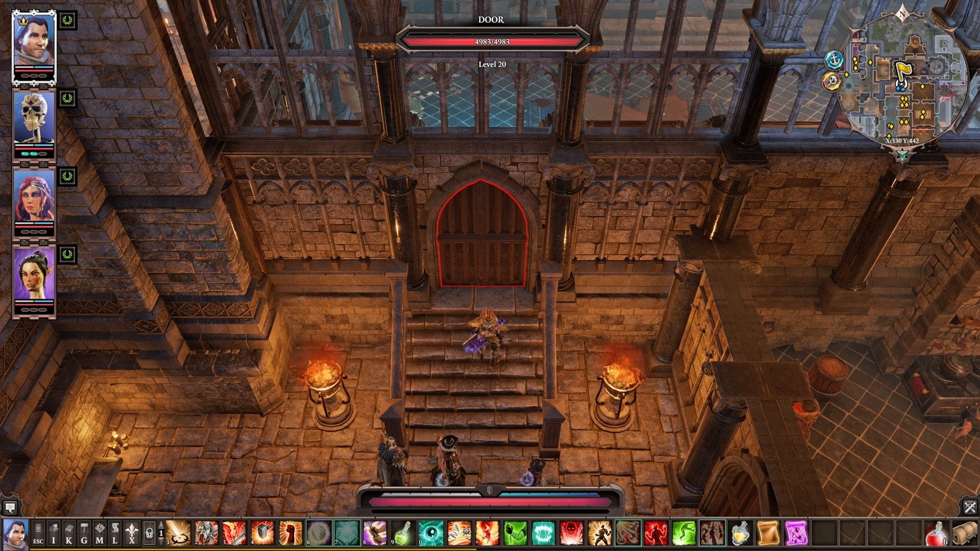 Locked Passages, Arx, Divinity: Original Sin 2 Points of
