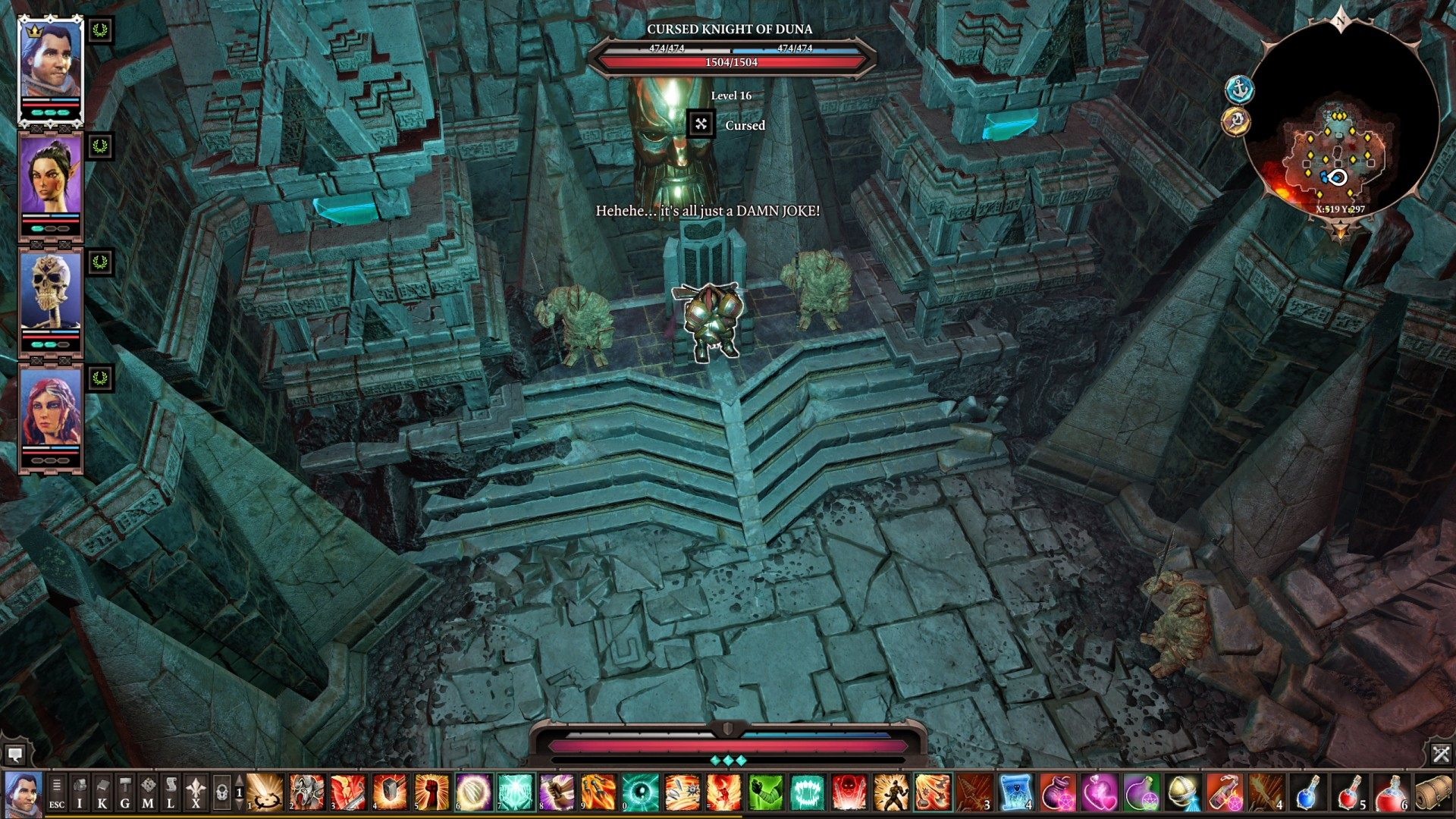 NPCs, The Nameless Isle, Divinity: Original Sin 2 Points of