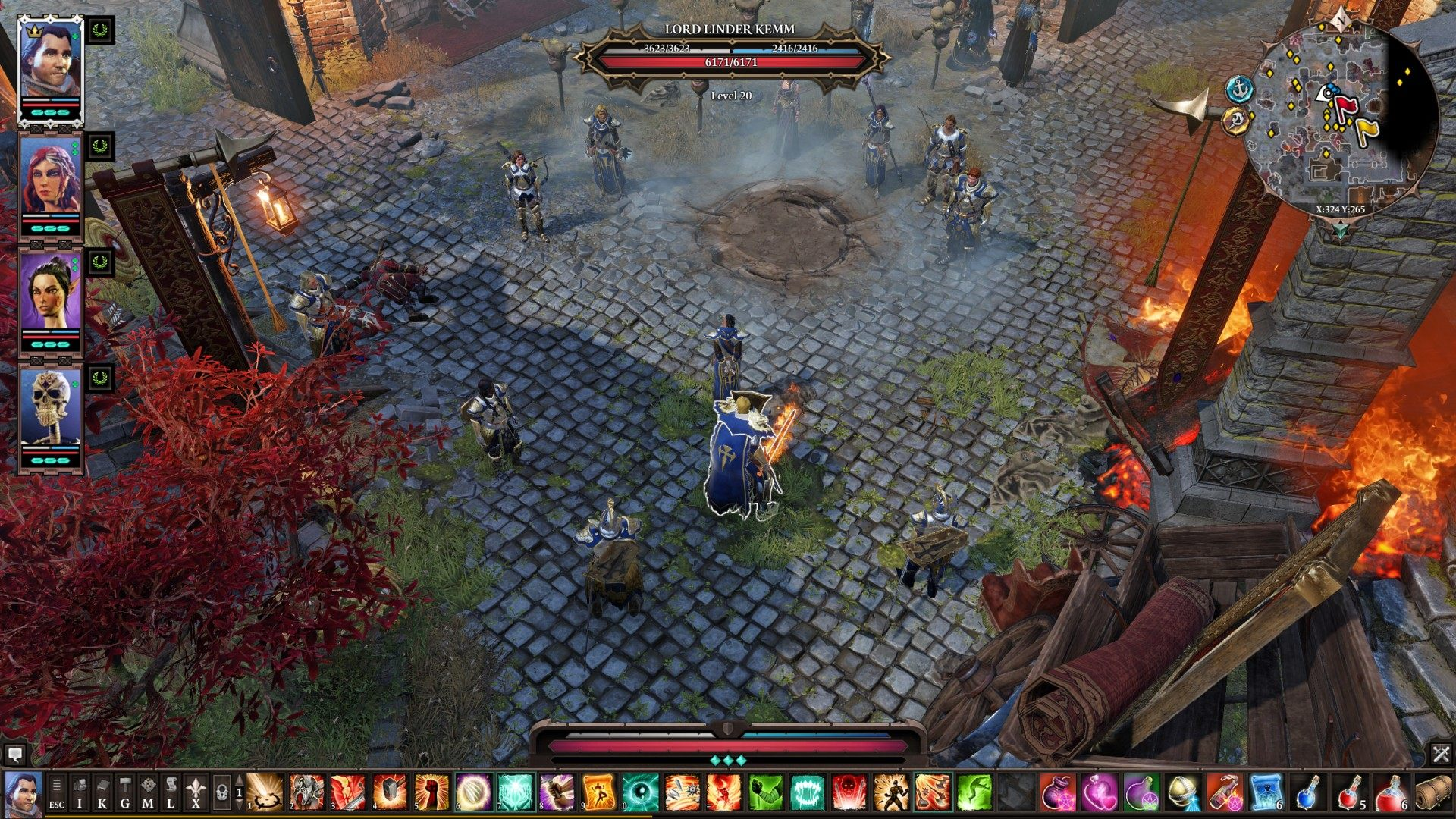 The Execution, Divinity: Original Sin 2 Quest