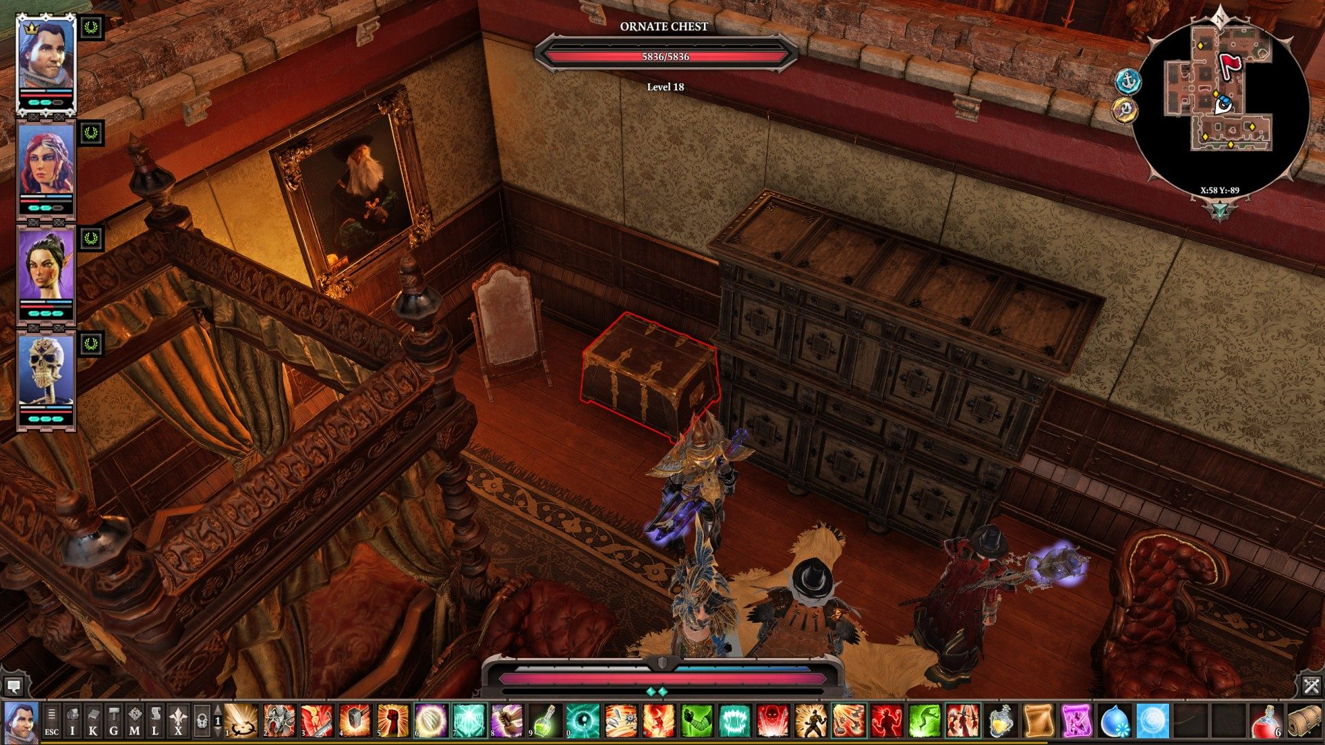 Chests, Arx, Divinity: Original Sin 2 Points of interest