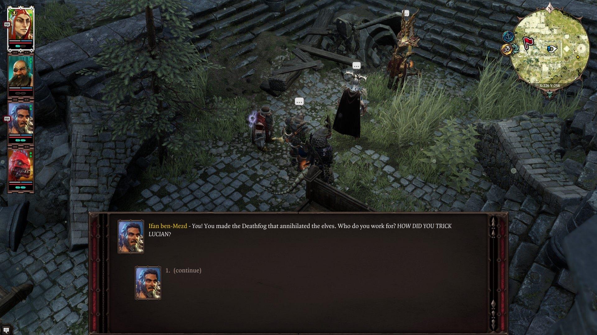 Ifan ben-Mezd, Divinity: Original Sin 2 Quest