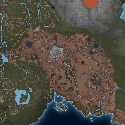 Elex Karte Teleporter.Elex World Map Magalan Elex Map
